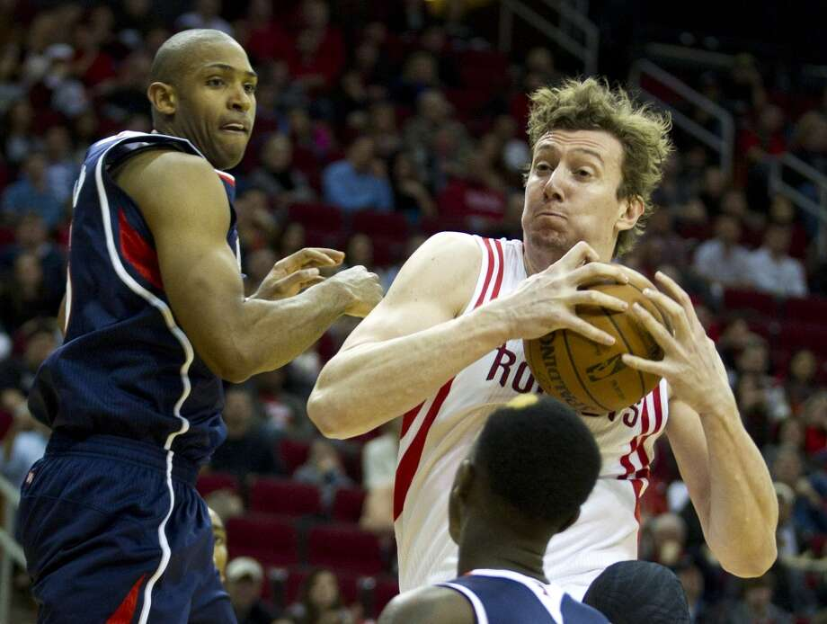 Omer Asik, Rockets, center  The Rockets have insisted they will keep him for the remainder of the season but it's no secret that Asik would welcome a move. Photo: Brett Coomer, Houston Chronicle