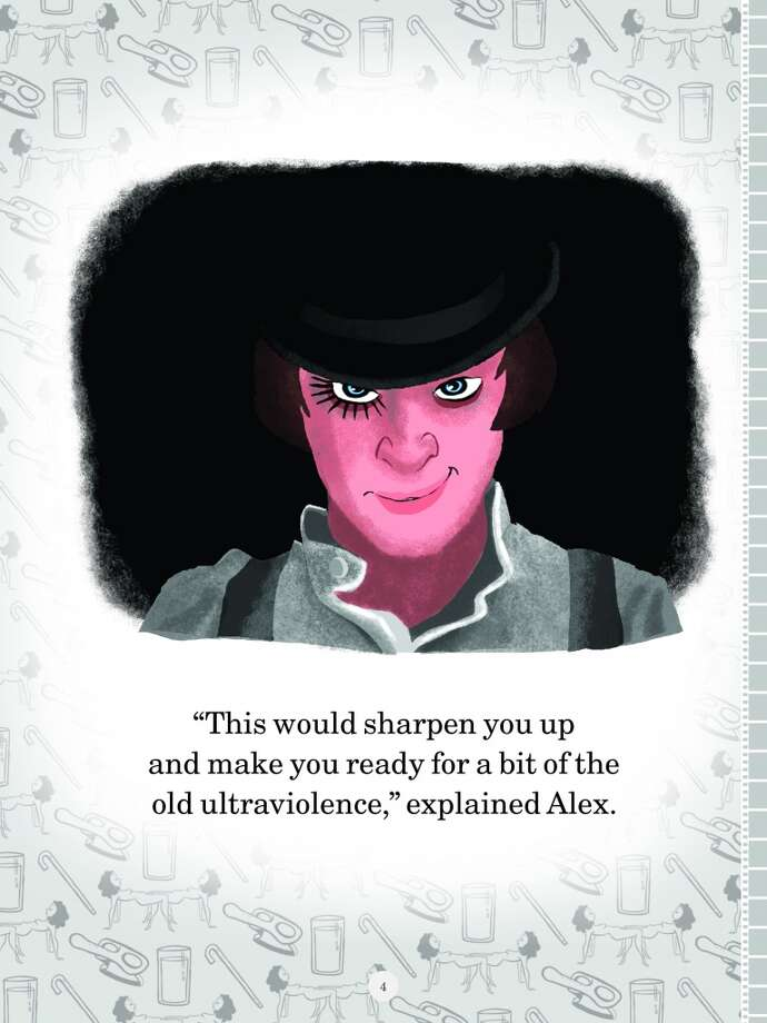 """A Clockwork Orange"" (Movies R Fun! by Josh Cooley, published by Chronicle Books)"