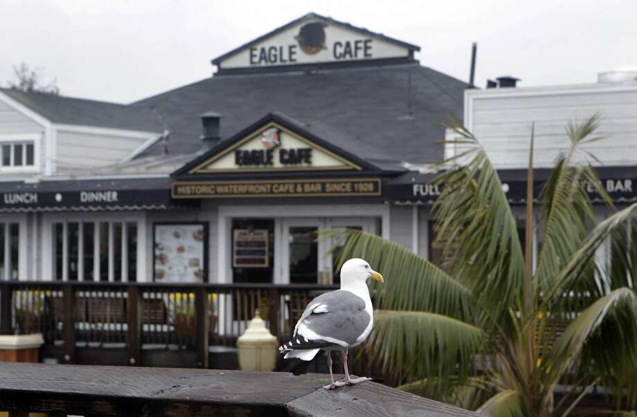 The venerable Eagle Cafe has been around since Prohibition. It was on the other side of the street then but got a prominent spot when Pier 39 was changed into a major tourist attraction. Photo: Paul Chinn, The Chronicle