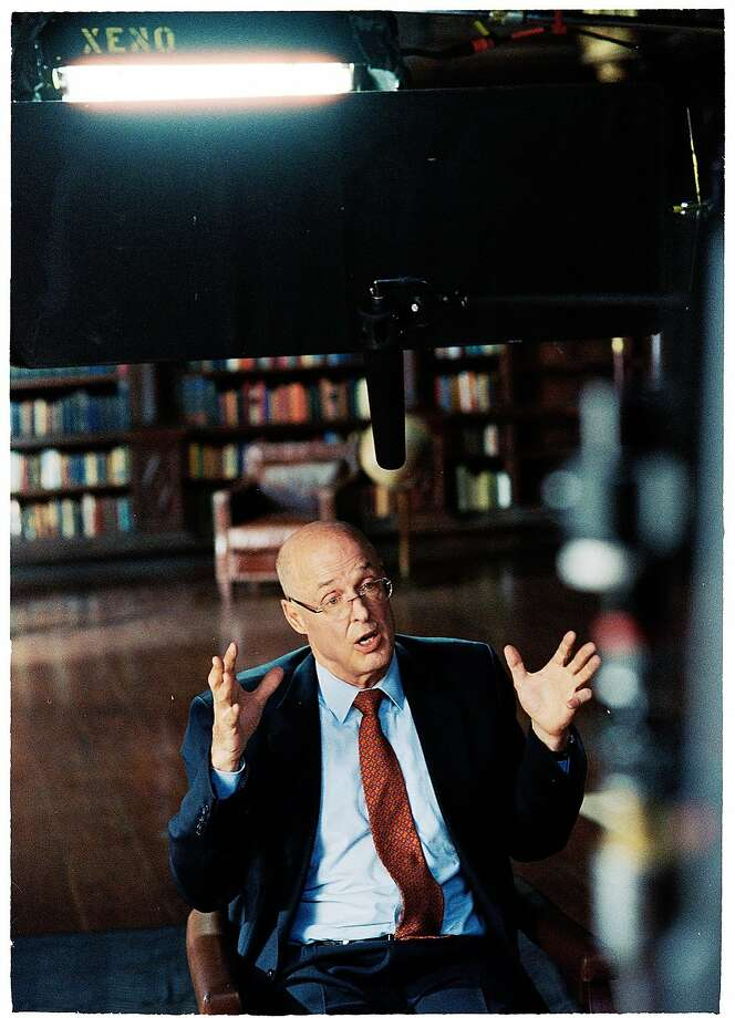Former Secretary of the Treasury Henry Paulson during the filming of the documentary. Photo: Bloomberg Business Week