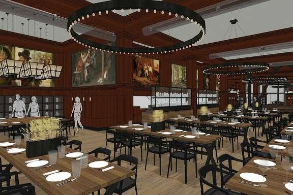 Schroeder's Restaurant renderings