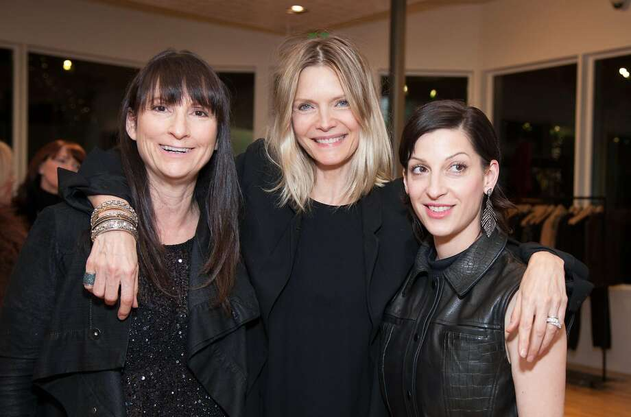 Curve boutique added Rona Pfeiffer Jewelry to her curated collections - and local fashionistas including Vanessa Getty, Gina Peterson and Carol Bonnie came out for a trunk show with Pfeiffer and her famous  sister-in-law, Michelle Pfeiffer. Photo: Drew Altizer