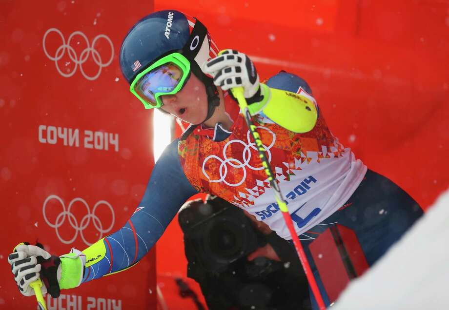 SOCHI, RUSSIA - FEBRUARY 18:  Mikaela Shiffrin of the United States prepares to make a run during the Alpine Skiing Women's Giant Slalom on day 11 of the Sochi 2014 Winter Olympics at Rosa Khutor Alpine Center on February 18, 2014 in Sochi, Russia.  (Photo by Alexander Hassenstein/Getty Images) ORG XMIT: 461593469 Photo: Alexander Hassenstein / 2014 Getty Images