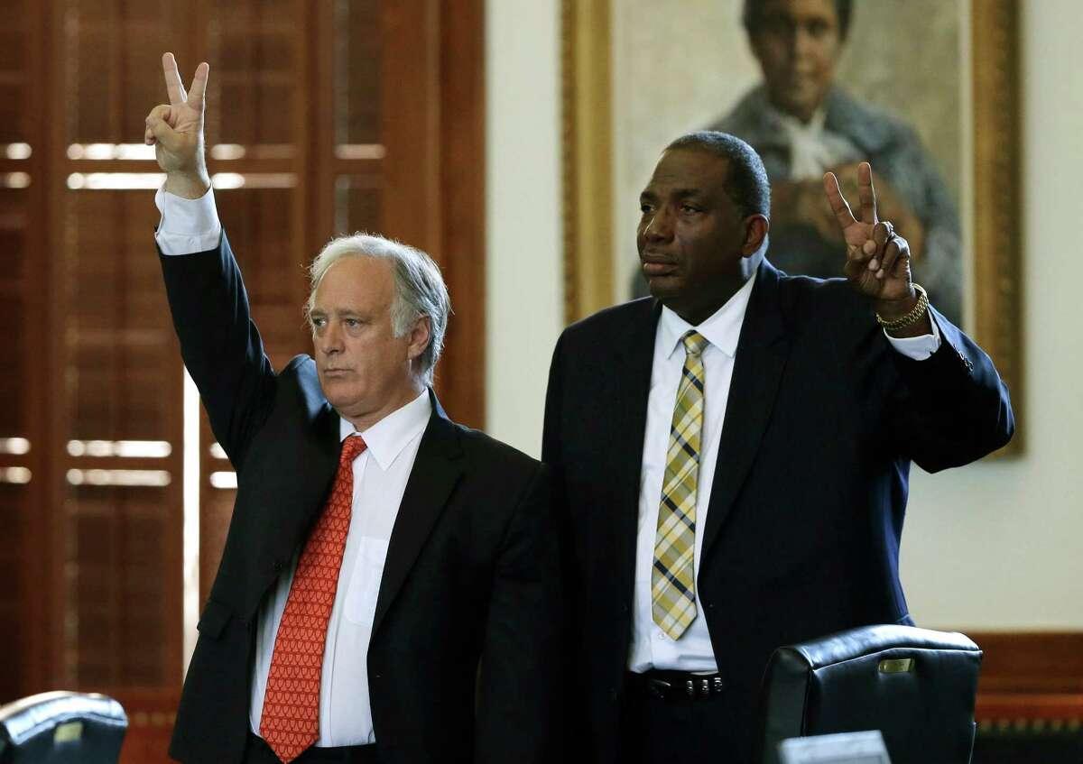 20. Kirk P. Watson (Texas Senator) City: Austin Party: Democrat Cash on hand: $1.51 million Source: Texas Tribune