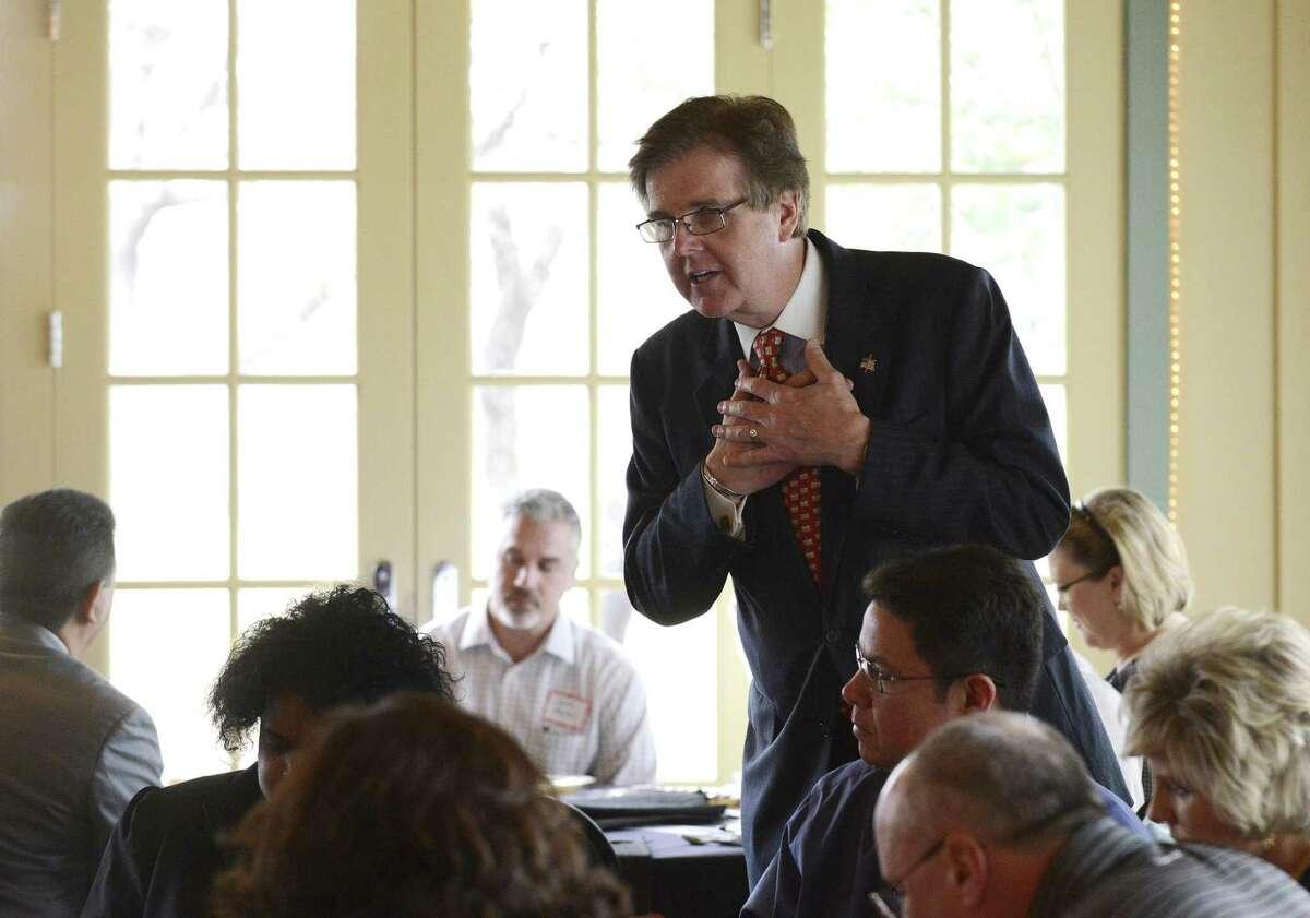 State Sen. Dan Patrick denied the allegations, stating: