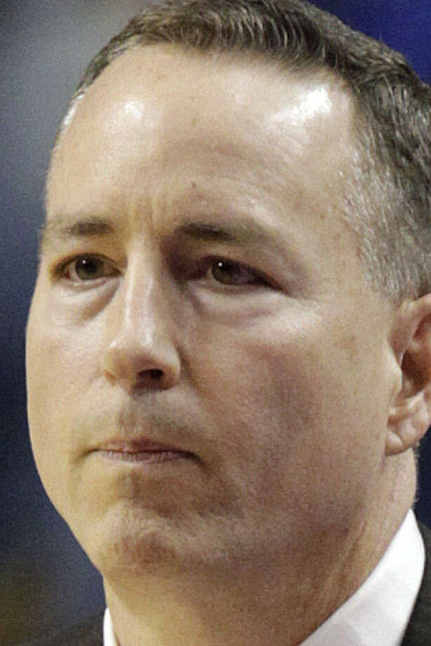 Billy Kennedy has yet to guide the Aggies into the NCAA tournament since joining A&M in 2011. / FR6426 AP