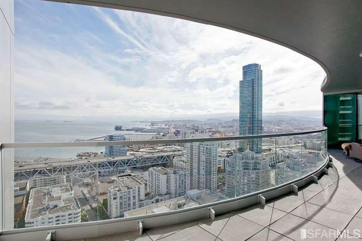 Terrace and view. Photos: Masoumeh Pahlbod, BHG Mason-McDuffie Real Estate/MLS
