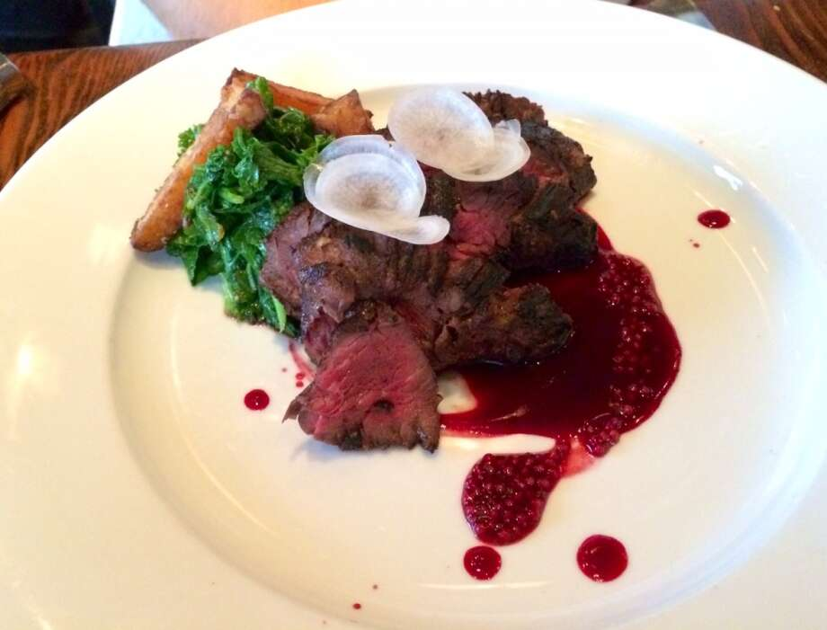 Grilled hanger steak ($30)