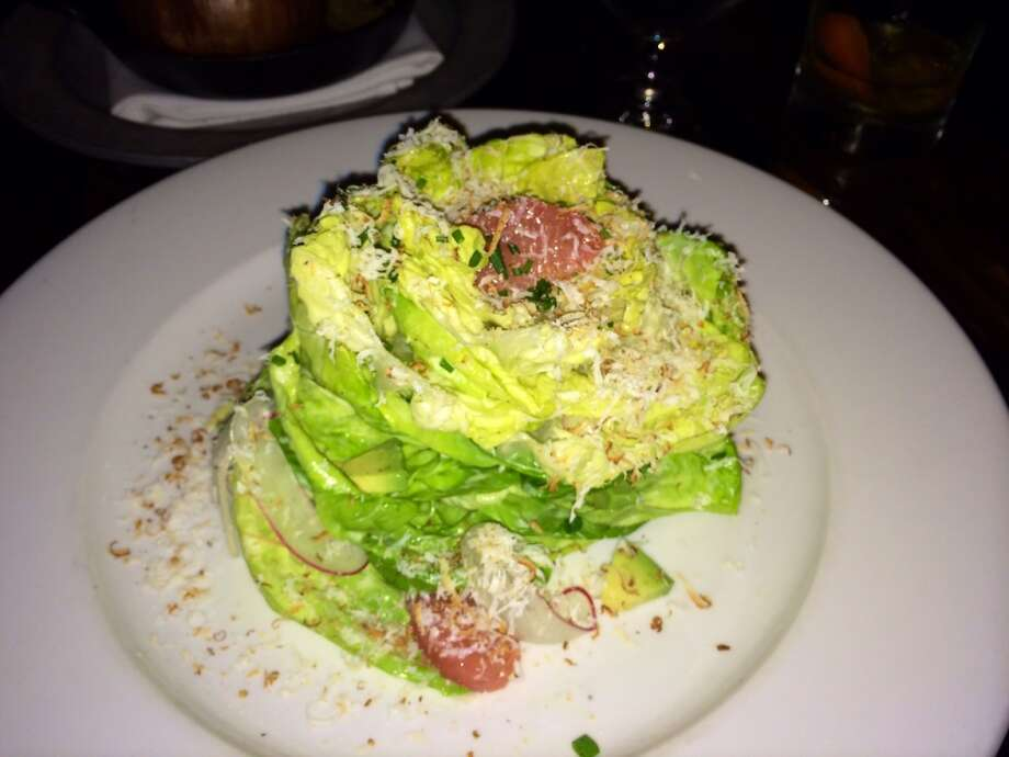 Butter lettuce salad with Green Goddess dressing ($11)