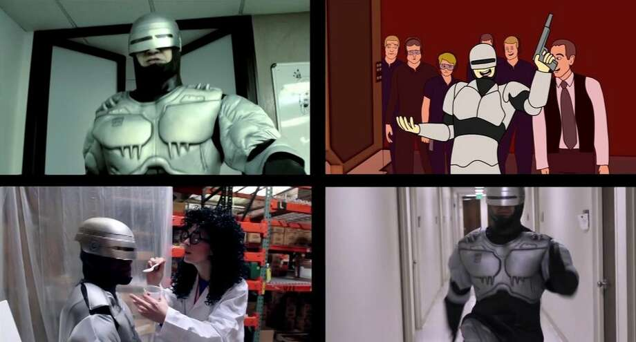 Our Robocop Remake screens 9 p.m. Saturday at the Dishman.