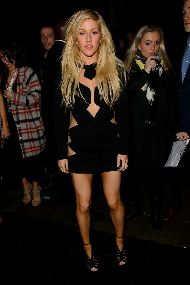 "LONDON, ENGLAND - FEBRUARY 19:  Ellie Goulding attends the Universal music afterparty for The BRIT Awards 2014 at Soho House ""Popup"" Bar on February 19, 2014 in London, England.  (Photo by Ben A. Pruchnie/Getty Images) Photo: Ben A. Pruchnie, Getty Images"