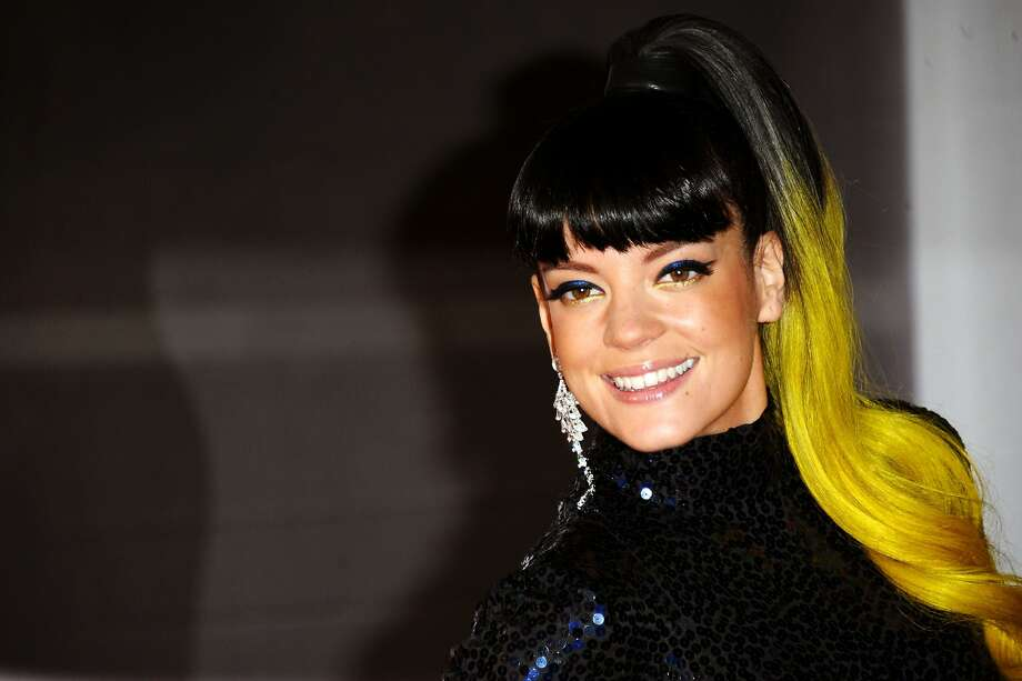 LONDON, ENGLAND - FEBRUARY 19:  Singer Lily Allen attends The BRIT Awards 2014 at 02 Arena on February 19, 2014 in London, England.  (Photo by Anthony Harvey/Getty Images) Photo: Anthony Harvey, Getty Images