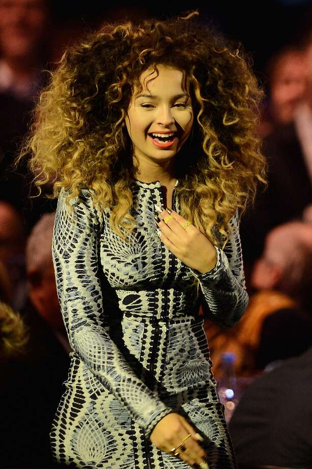 LONDON, ENGLAND - FEBRUARY 19:  Ella Eyre of Rudimental receives the award for British Single at The BRIT Awards 2014 at 02 Arena on February 19, 2014 in London, England.  (Photo by Ian Gavan/Getty Images) Photo: Ian Gavan, Getty Images