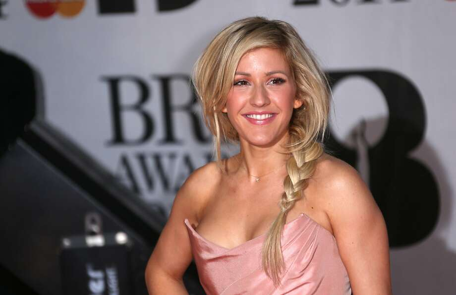 British singer-songwriter Ellie Goulding arrives at the BRIT Awards 2014 at the O2 Arena in London on Wednesday, Feb. 19, 2014. (Photo by Joel Ryan/Invision/AP) Photo: Joel Ryan, Associated Press