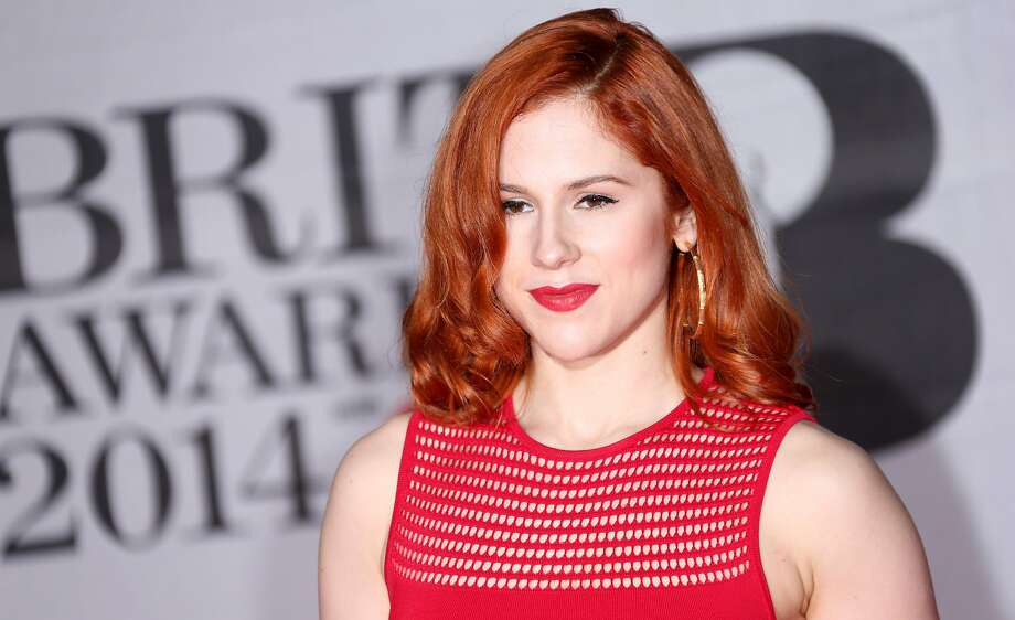 Britiah singer-songwriter Katy B arrives at the BRIT Awards 2014 at the O2 Arena in London on Wednesday, Feb. 19, 2014. (Photo by Joel Ryan/Invision/AP) Photo: Joel Ryan, Associated Press