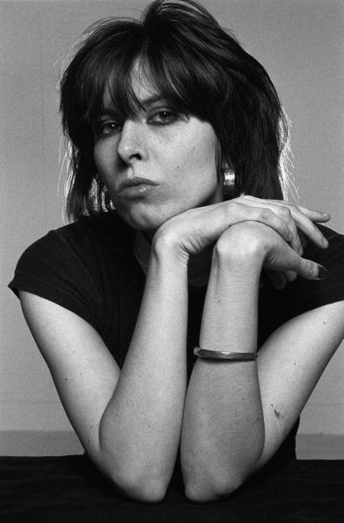 Chrissie Hynde lead singer with The Pretenders in Camden, London in January 1979. (Photo by Fin Costello/Redferns)