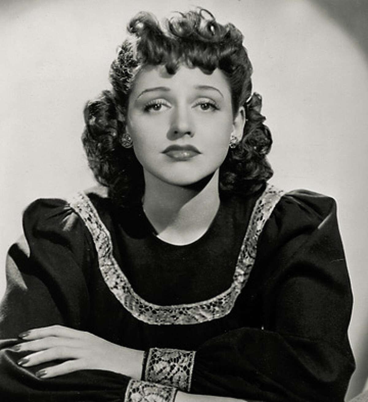 Anita O'Day, jazz singer.