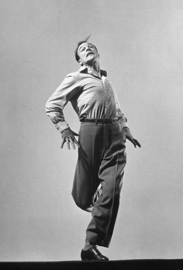 Dancer/actor Gene Kelly performing a series of his signature energetic dance routines.  (Photo by Gjon Mili//Time Life Pictures/Getty Images) Photo: Gjon Mili, Time & Life Pictures/Getty Image / Time Life Pictures