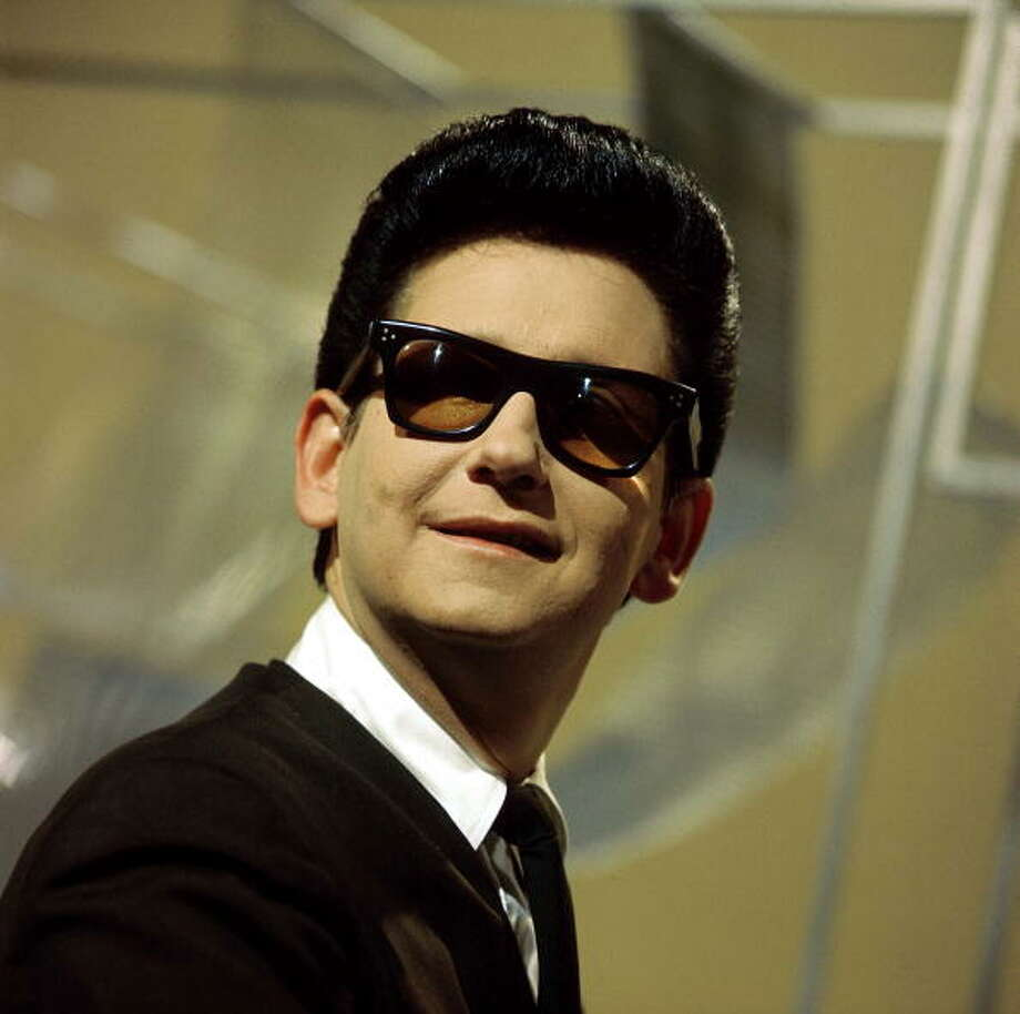 Roy Orbison posed on set of tv show,  (Photo by David Redfern/Redferns) Photo: David Redfern, Redferns / Redferns