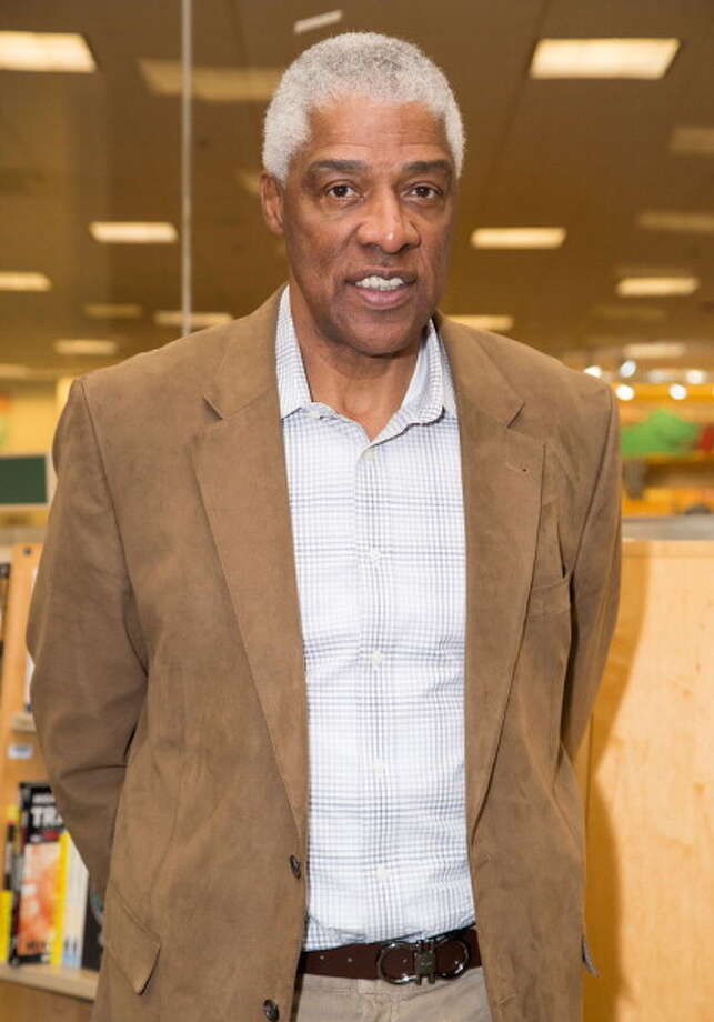 "Julius Erving signs copies of his memoir ""Dr. J: The Autobiography"" at Barnes & Noble bookstore at The Grove on December 19, 2013 in Los Angeles, California.  (Photo by Vincent Sandoval/WireImage) Photo: Vincent Sandoval, WireImage / 2013 Vincent Sandoval"