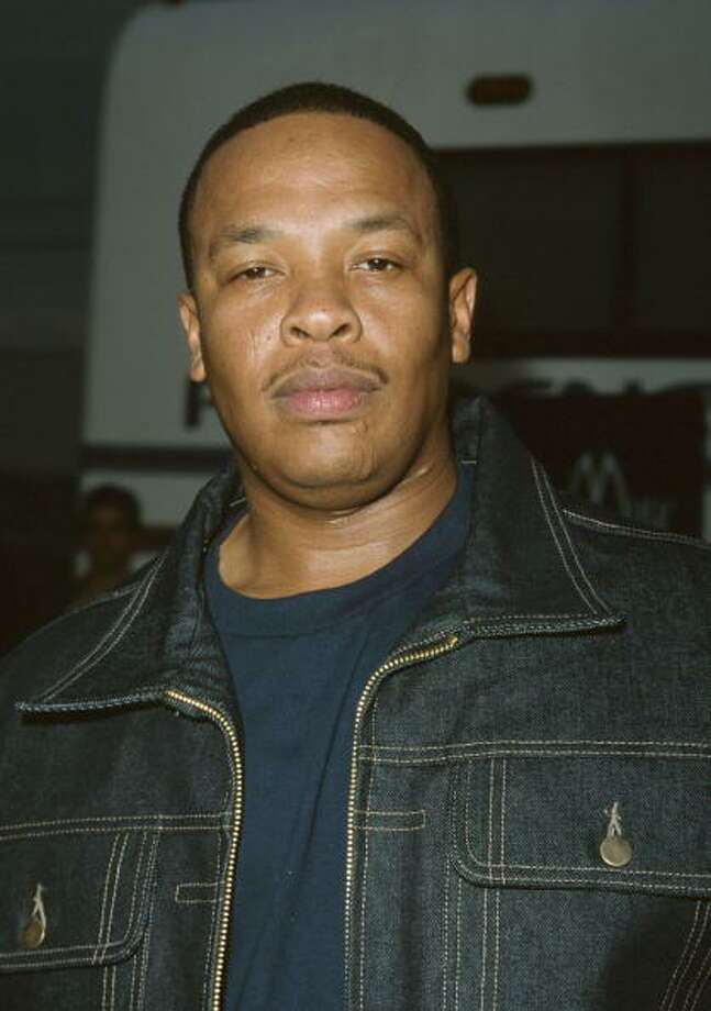 Dr. Dre, circa 2000.  (Photo by Sam Levi/WireImage) Photo: Sam Levi, WireImage / WireImage