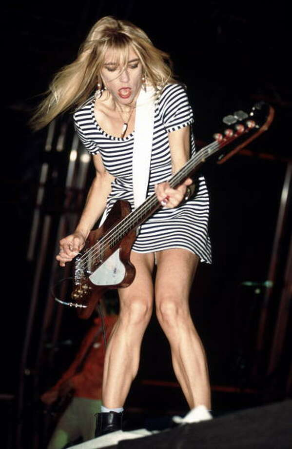 Kim Gordon  (Photo by Mick Hutson/Redferns) Photo: Mick Hutson, Redferns / Redferns
