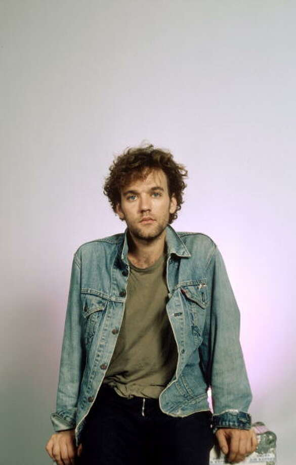 Michael STIPE of REM, at the start of his fame, in the late 1980s. Photo: Ebet Roberts, Redferns / Redferns