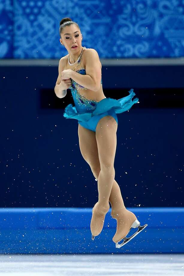 Gabrielle Daleman of Canada competes in the Figure Skating Ladies' Free Skating on day 13 of the Sochi 2014 Winter Olympics at Iceberg Skating Palace on February 20, 2014 in Sochi, Russia. Photo: Ryan Pierse, Getty Images