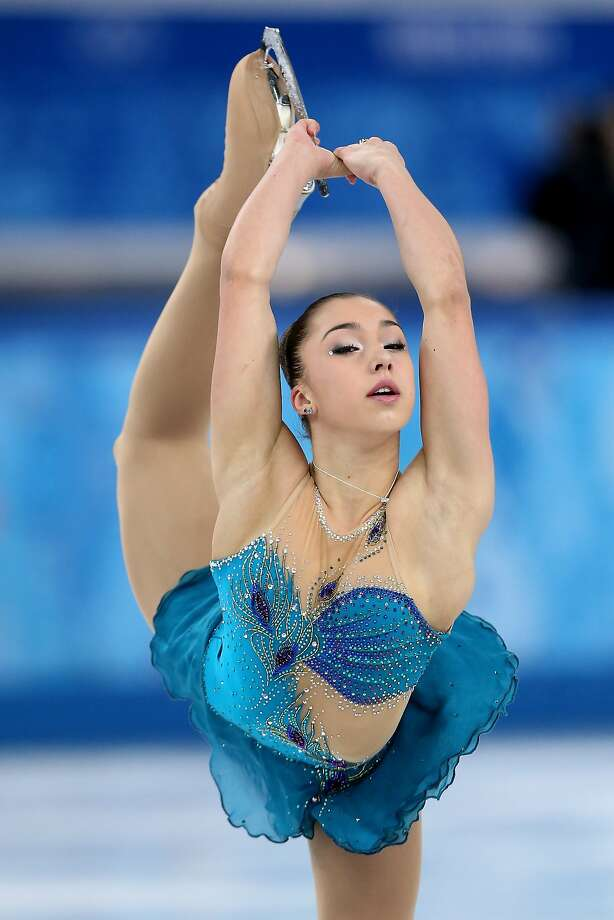 Gabrielle Daleman of Canada competes in the Figure Skating Ladies' Free Skating on day 13 of the Sochi 2014 Winter Olympics at Iceberg Skating Palace on February 20, 2014 in Sochi, Russia.  Photo: Matthew Stockman, Getty Images