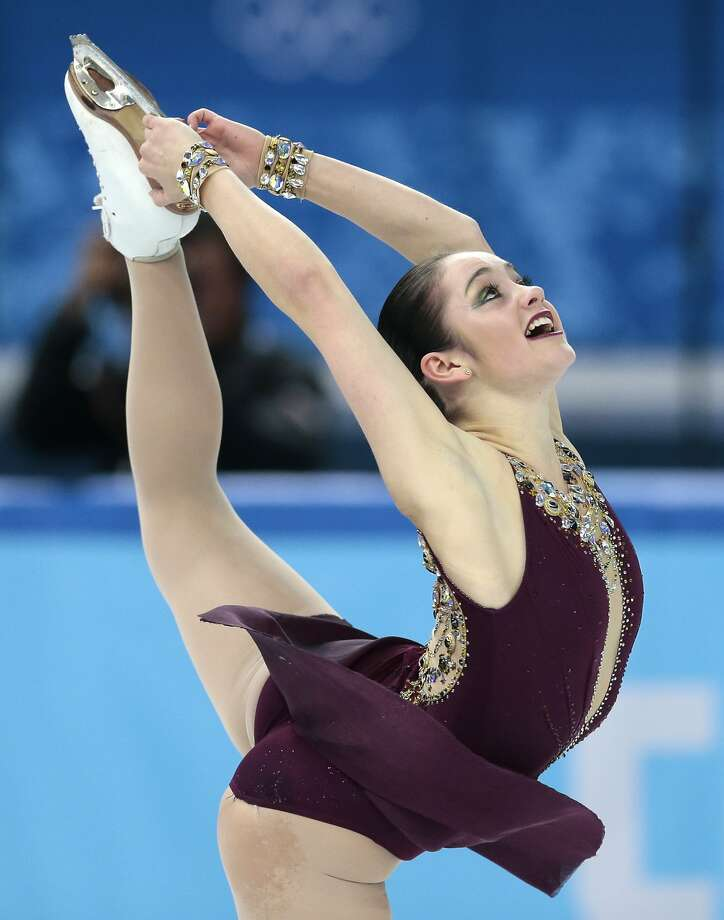 Kaetlyn Osmond of Canada competes in the women's free skate figure skating finals at the Iceberg Skating Palace during the 2014 Winter Olympics, Thursday, Feb. 20, 2014, in Sochi, Russia.  Photo: Ivan Sekretarev, Associated Press
