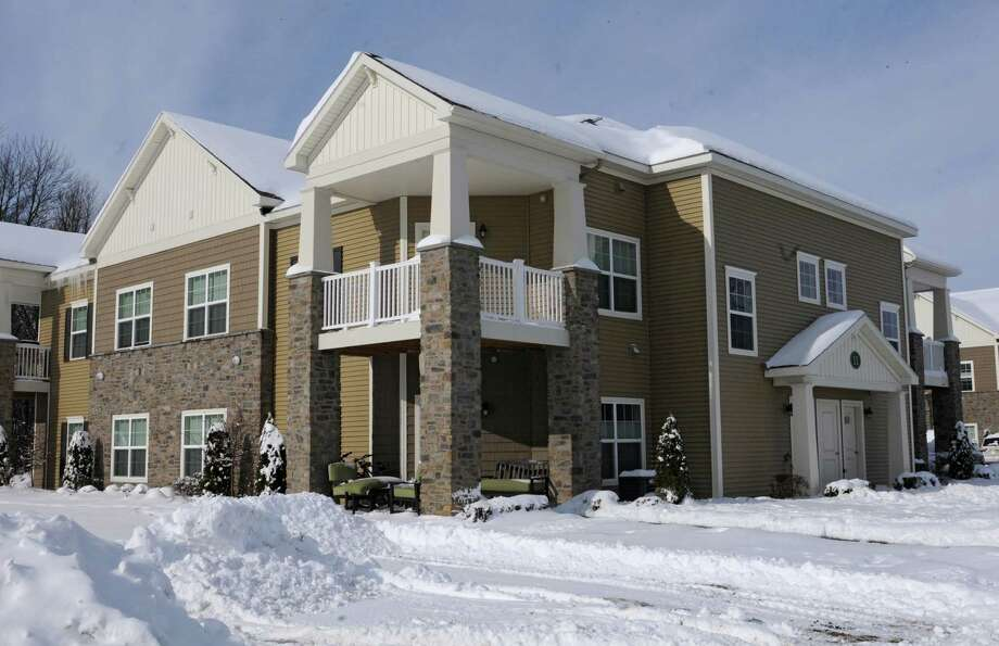 Exterior of Cornerstone Luxury Apartments on Jodiro Lane on Thursday, Feb. 6, 2014 in Colonie, N.Y.  (Lori Van Buren / Times Union) Photo: Lori Van Buren / 00025648B