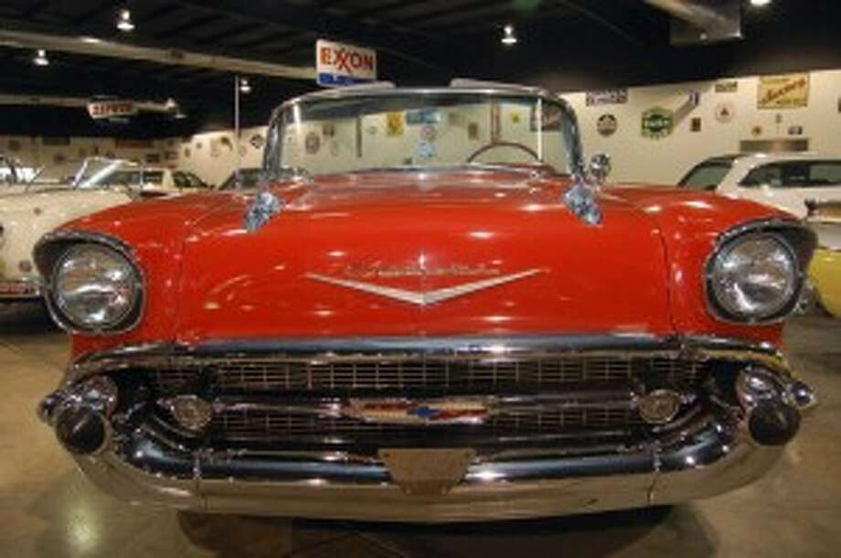A 1957 Chevy Bel Air like the one pictured above, minus the drop top, was stolen from Skip Wilson in 1984. (Photo: The Chronicle)