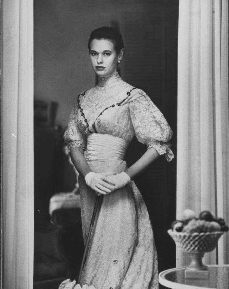 Actress Gloria Vanderbilt Stokowski in costume for Molnar's play The Swan (1954). Photo: Gordon Parks, Time & Life Pictures/Getty Image