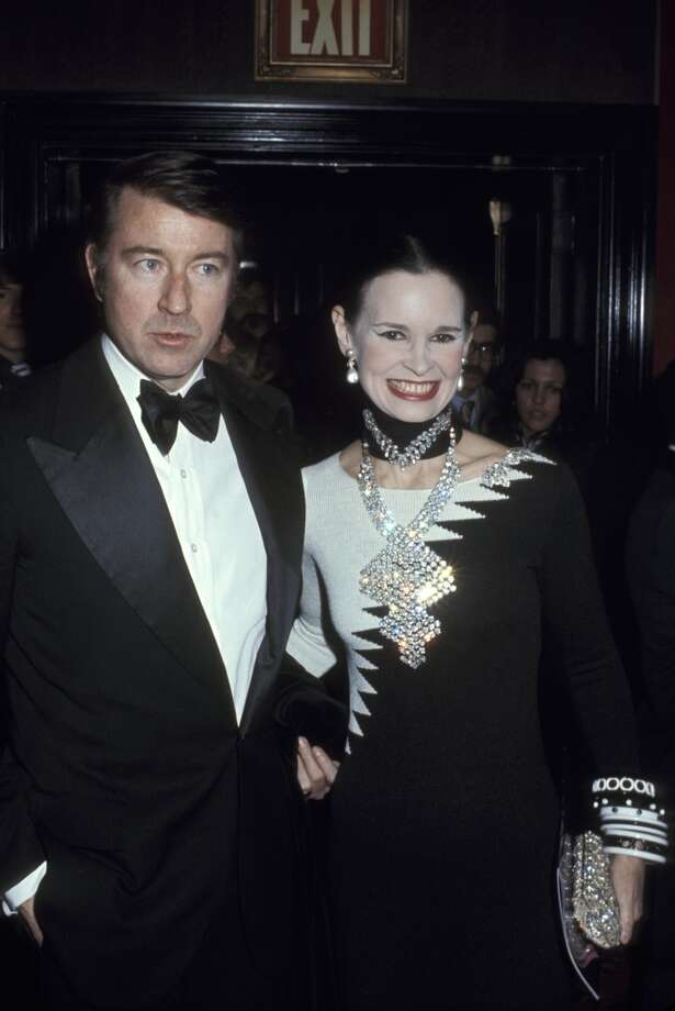 Wyatt Cooper and Gloria Vanderbilt during a premiere at Ziegfeld Theatre on January 1, 1968 in New York City. Photo: Ron Galella, WireImage