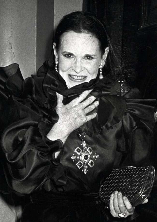 "Gloria Vanderbilt during Diana Vreeland's Book ""Allure"" Party at International Center for Photography in New York City, 1980. Photo: Ron Galella, WireImage"