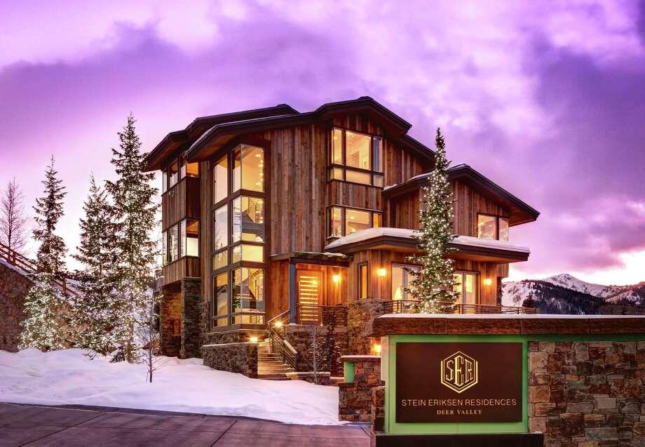 Stein Eriksen residences in Park city, Utah. Photo: Alan Blakely
