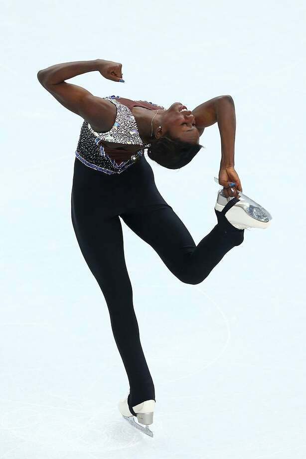 Mae Berenice Meite of France competes in the Figure Skating Ladies' Free Skating on day 13 of the Sochi 2014 Winter Olympics at Iceberg Skating Palace on February 20, 2014 in Sochi, Russia. Photo: Paul Gilham, Getty Images
