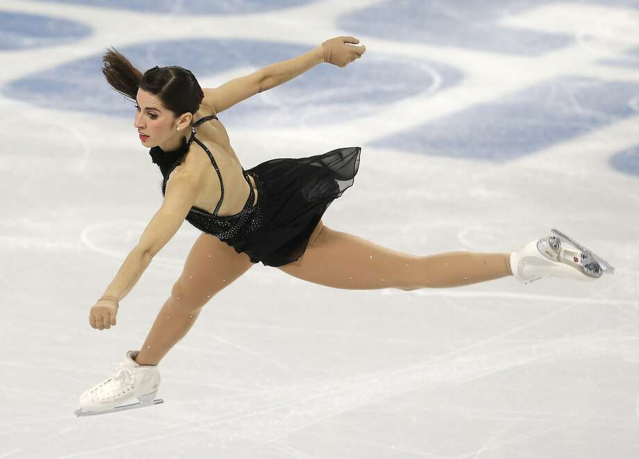 Valentina Marchei of Italy competes in the women's free skate figure skating finals at the Iceberg Skating Palace during the 2014 Winter Olympics, Thursday, Feb. 20, 2014, in Sochi, Russia. (AP Photo/Darron Cummings) Photo: Darron Cummings, Associated Press