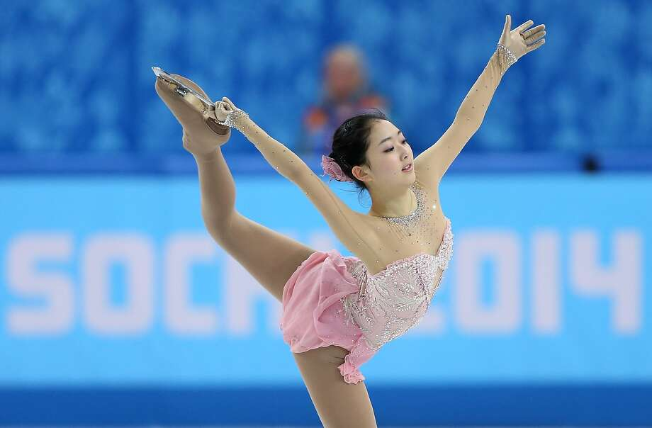 Zijun Li of China competes in the Figure Skating Ladies' Free Skating on day 13 of the Sochi 2014 Winter Olympics at Iceberg Skating Palace on February 20, 2014 in Sochi, Russia. Photo: Matthew Stockman, Getty Images