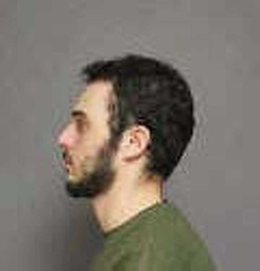 Leon Pasternak, 28, of Fairfield, was charged with stealing video games. Photo: Contributed Photo / Fairfield Citizen