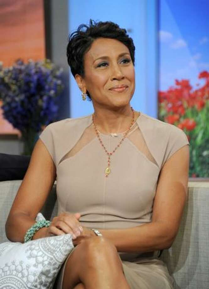 Robin Roberts, Good Morning America. Score: 29  (AP Photo/ABC, Ida Mae Astute)