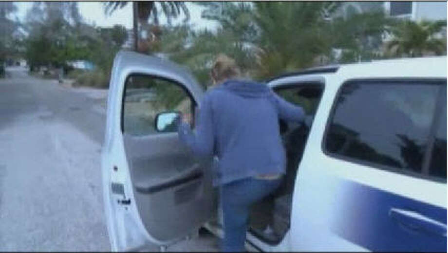 Everyone else may have been laughing, but not this Fla. reporter. While covering a story, Jean Price  confronted the reporter and stole his vehicle, driving away before dumping the vehicle.