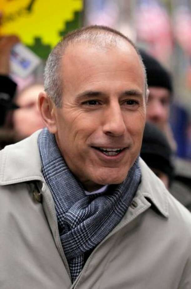 Matt Lauer, Today Show. Score: 7  ((AP Photo/Richard Drew, File) Photo: Richard Drew )