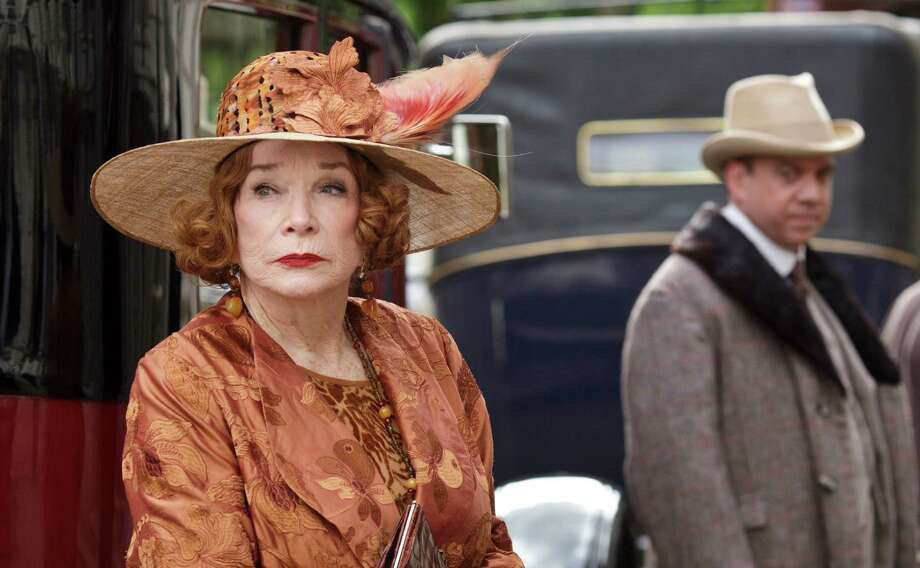 "Shirley MacLaine returns as Cora's outspoken mother, Martha Levinson, and Paul Giamatti joins her as her wayward son in the season finale of ""Downton Abbey."" Photo: Nick Briggs, Photographer / Carnival Films"