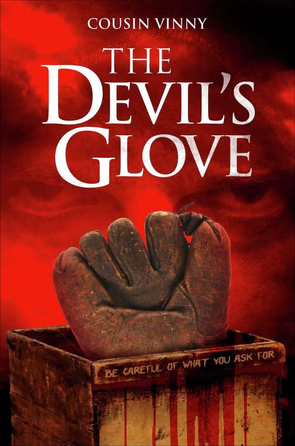 Louis Agnello Jr., also known as Cousin Vinny, has written a story involving young men's dreams of baseball glory and the age-old battle between good and evil. Satan himself is among the characters. The book is called ìThe Devilís Gloveî and Agnello will appear at signings this weekend in Southbury's library and Barnes & Noble in Danbury. Photo: Contributed Photo / The News-Times Contributed