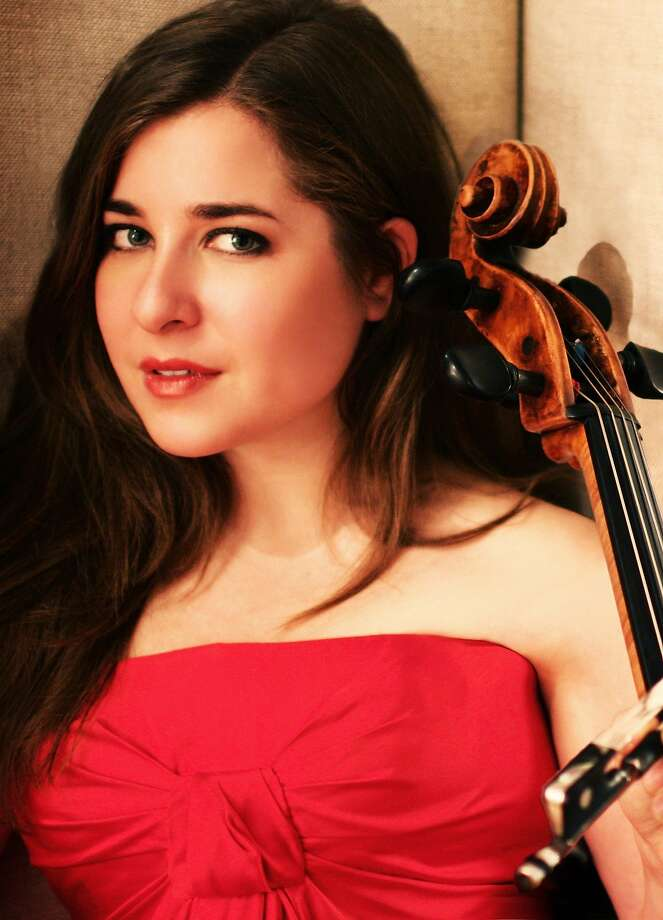 Cellist Alisa Weilerstein unleashed her skills in Haydn's dynamic finale. Photo: SF Symphony