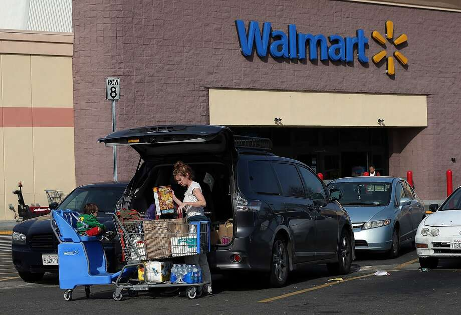 Arkansas - WalmartLocation: Bentonville, ArkansasRevenue: $476.29 billionThis multinational retail corporation sells home furnishings, electronics, clothing, food, sporting equipment, and more in its department stores. Photo: Justin Sullivan, Getty Images