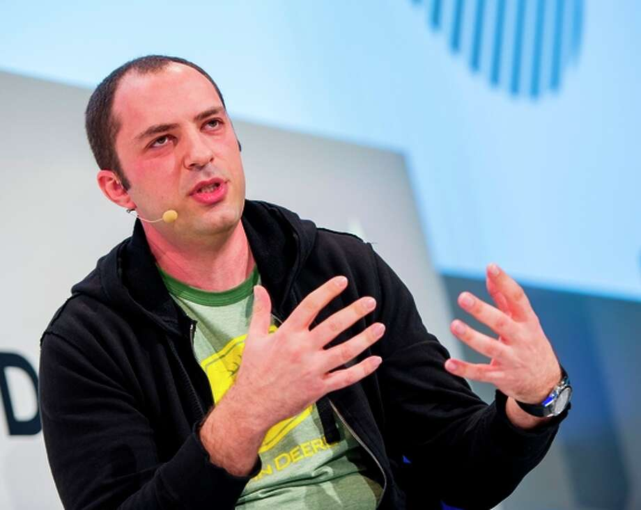 Jan Koum, CEO and co-founder of WhatsApp, is a major donor. Last February, Facebook bought WhatsApp, a mobile messaging service, for $19 billion. Eight months later, the 38-year-old Ukrainian immigrant gave $556 million to the Silicon Valley Community Fund in 2014. Photo: MARC MÜLLER / AFP/Getty Images / DPA