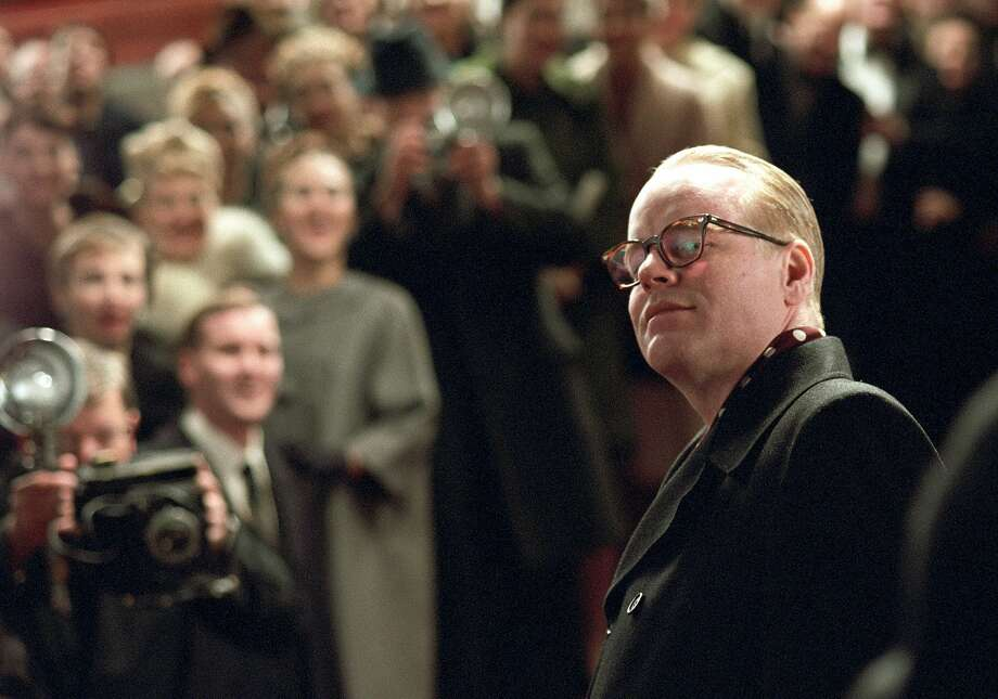 "City Arts & Lectures is presenting a free film festival this weekend in tribute to the late Philip Seymour Hoffman, who won an Oscar for his title role in ""Capote."" Photo: Sony Pictures Classics., AP"