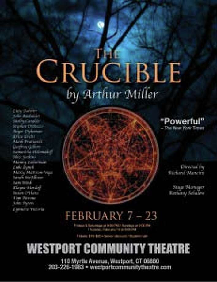 "Catch a performance of ""The Crucible"" this weekend, performed by the Westport Community Theatre. Photo: Contributed Photo / Westport News"